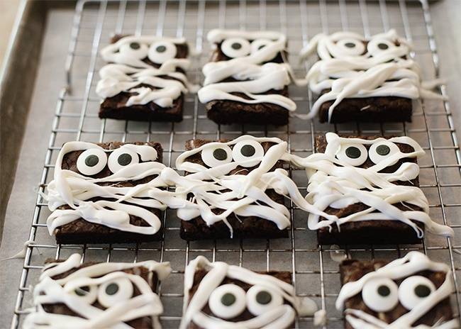 Cooking with Kids: Mummy Brownies