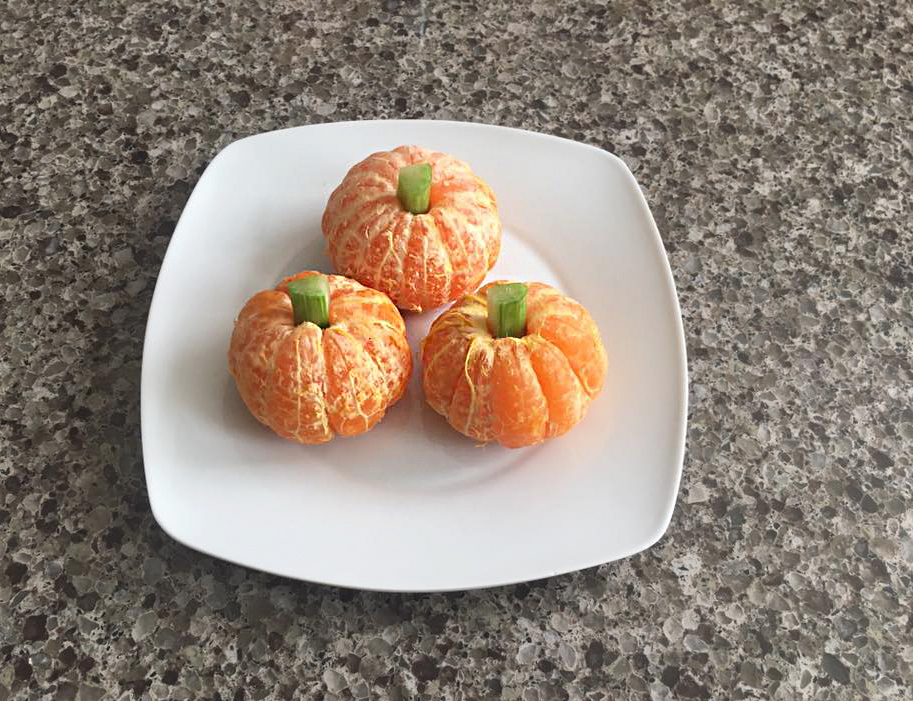 How to Make Clementine Pumpkins