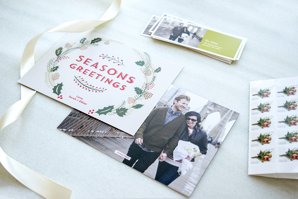 "New ""Boughs of Holly"" Holiday Photo Card by Jon Cannell"