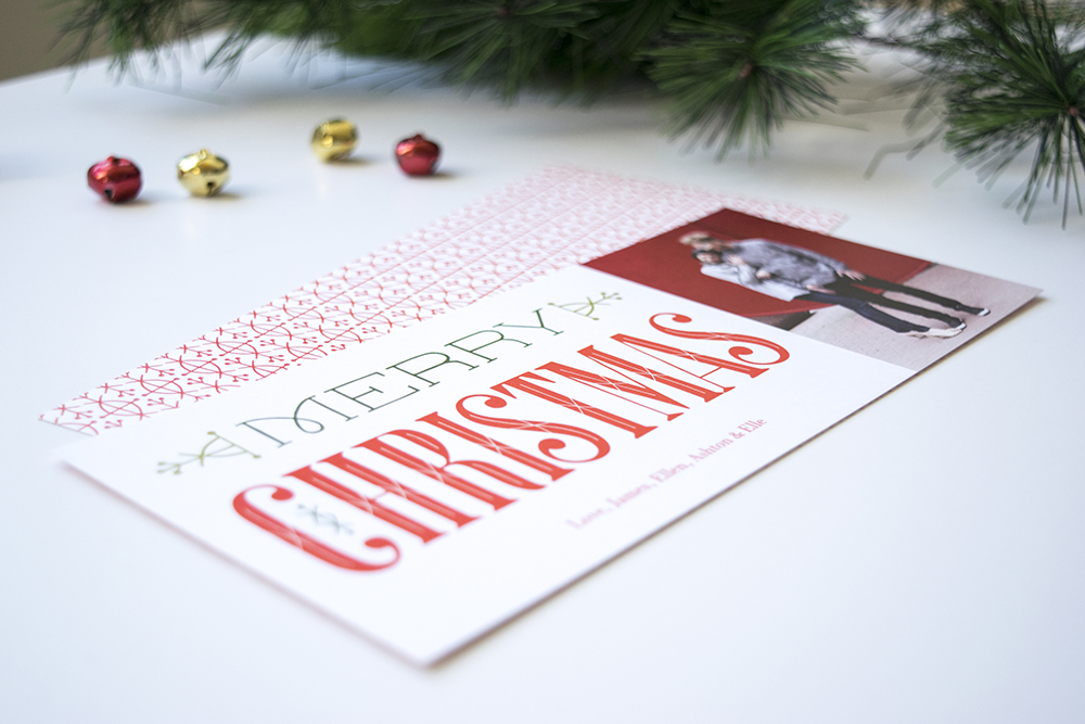 """New """"Very Merry Christmas"""" Holiday Photo Card by Clairice Gifford"""
