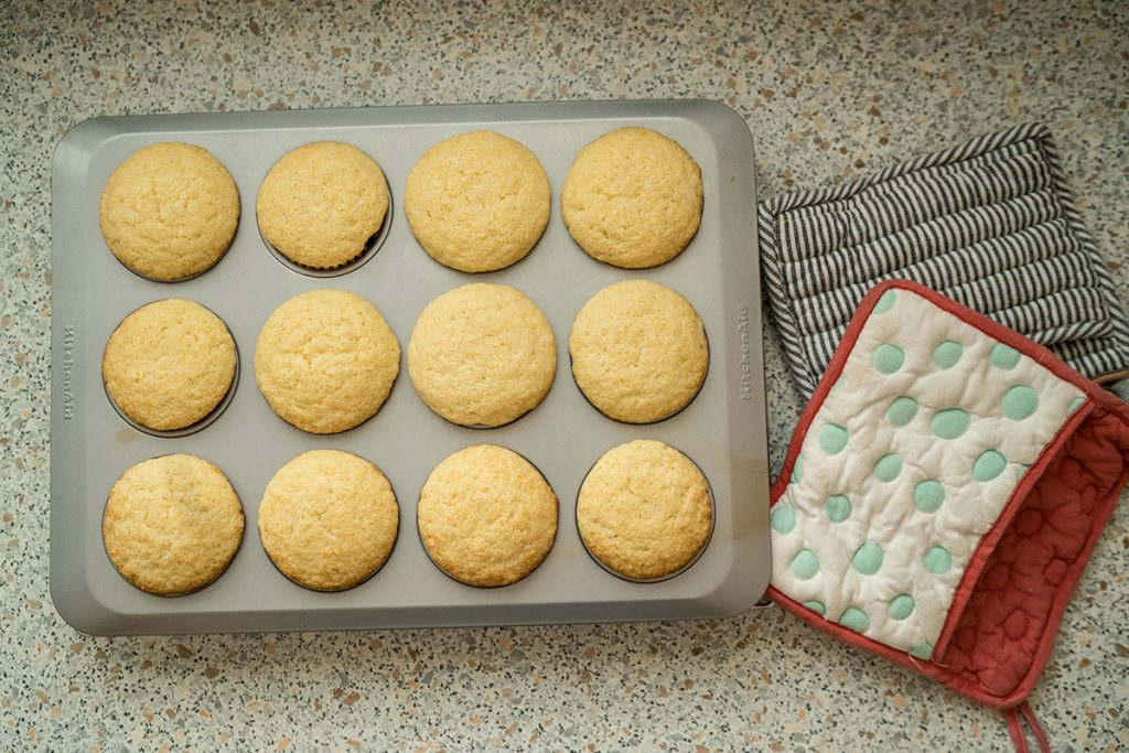 How to make Corn Muffins with Lemon Honey Butter
