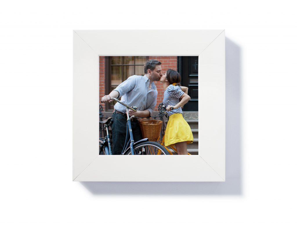 Pinhole Press Custom 5x5 Framed Print in White