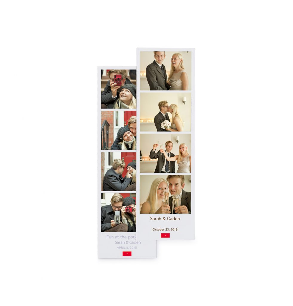 Pinhole Press Custom Photo Booth Magnet Set