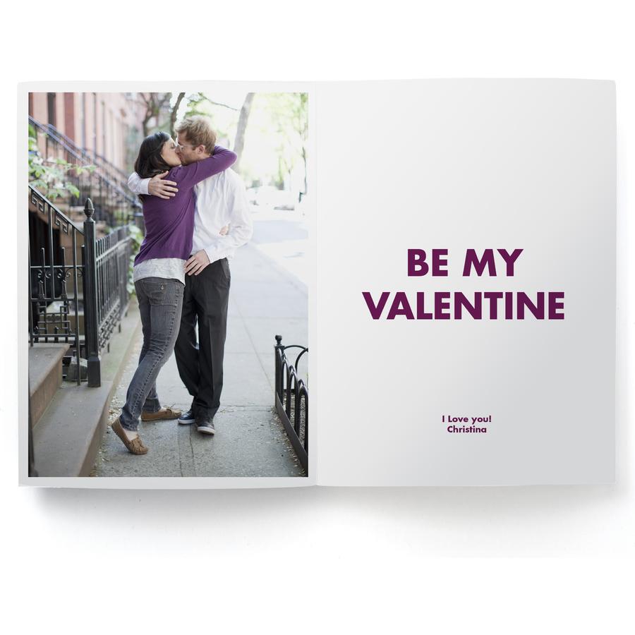 Pinhole Press Xoxo Valentine's Day Photo Card Inside