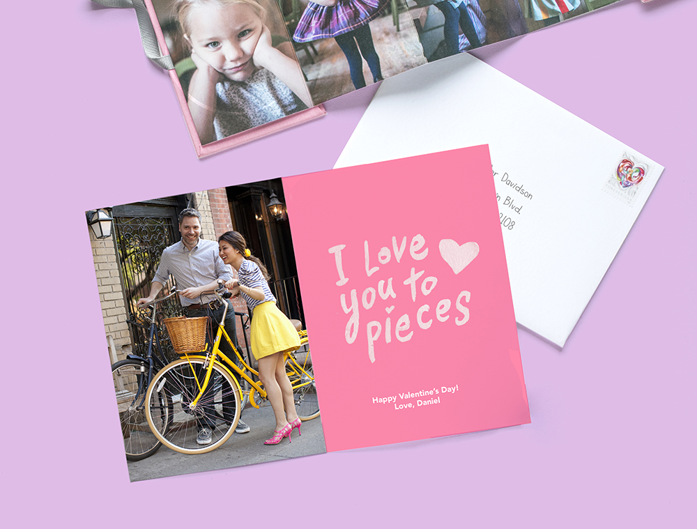 "Pinhole Press ""Hey Babe"" Valentine's Day Photo Card"