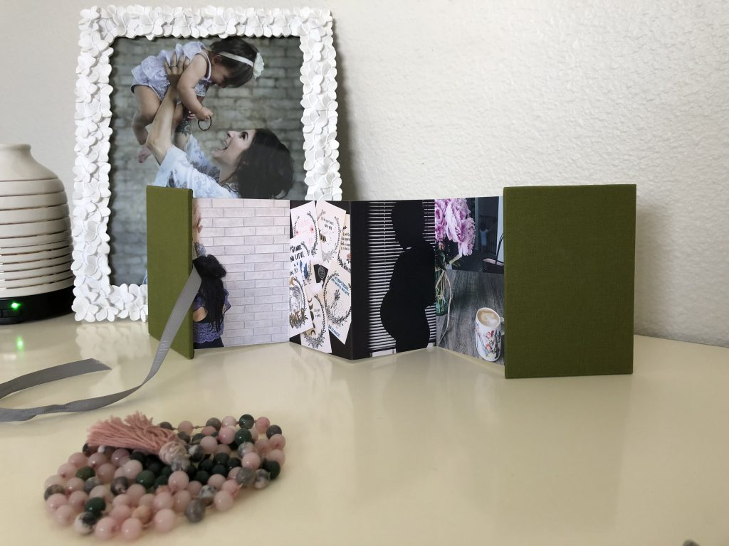 Pinhole Press Brag Book with Green Cover