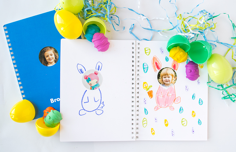 How to make Easter Egg Crayons from Pinhole Press