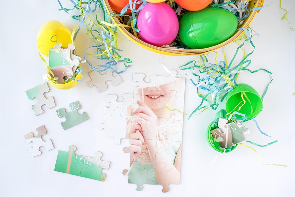 3 Sugar-Free Easter Egg Hunt Ideas - Photo Puzzle