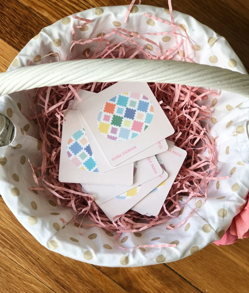 Easter Egg Hunt with Memory Game from Pinhole Press