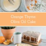 Orange Thyme Cake for Easter