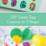 DIY Easter Egg Crayons in 3 Easy Steps