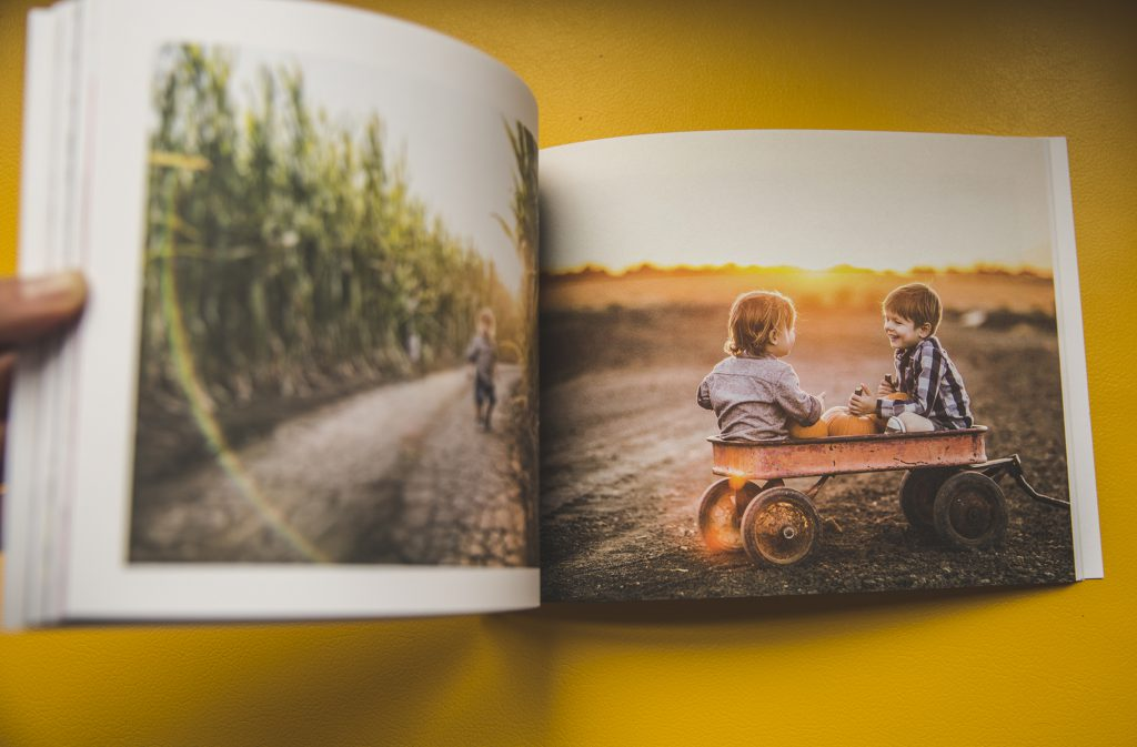 Tips on organizing your special moments into a photo book