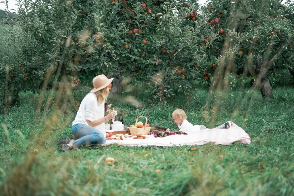 Mommy and Son Picnic Date