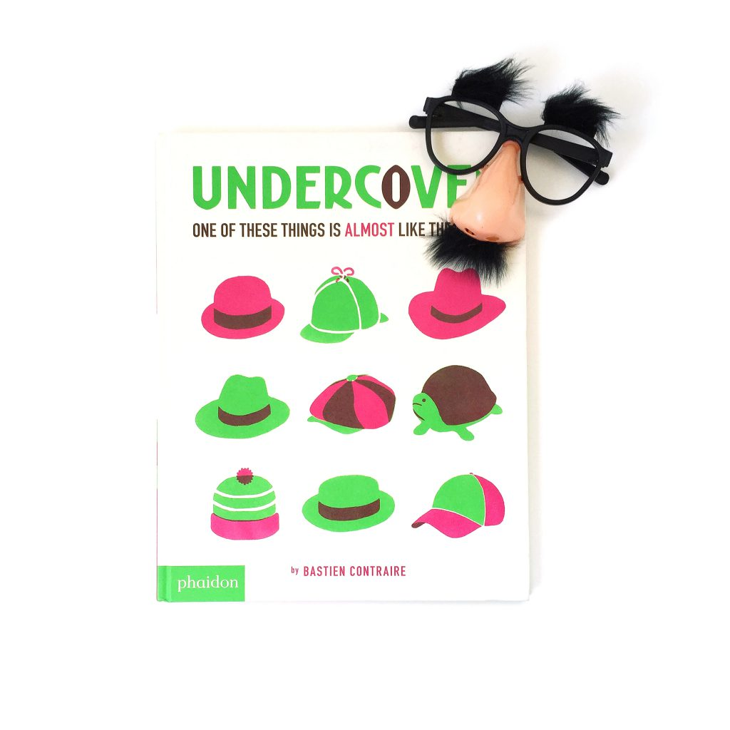 Books for Kids: Undercover by Bastien Contraire