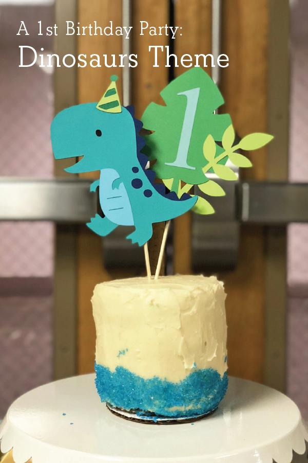 1st Birthday Party: Dinosaur Theme