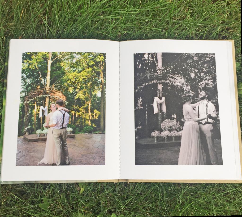 Wedding Photo Album by Pinhole Press