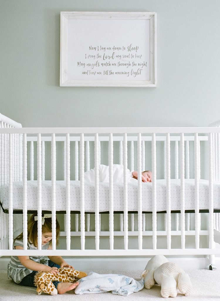 5 ways to get creative with newborn photography: Get Creative in the Nursery