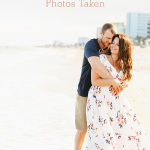Get engagement photos taken at one of your favorite places.