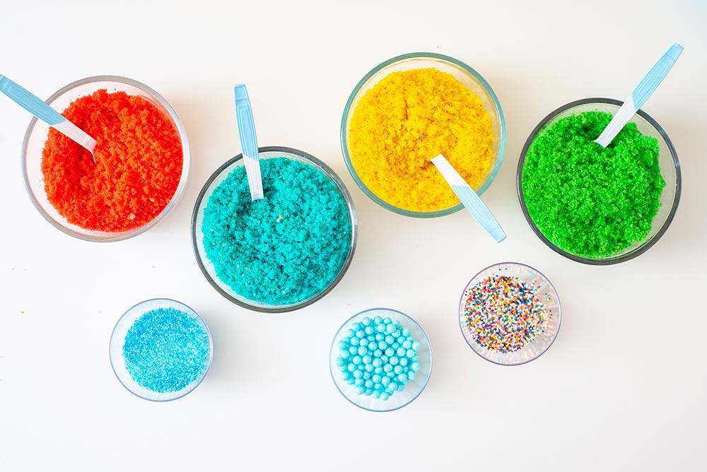 DIY Birthday Cake Bar: Ingredients