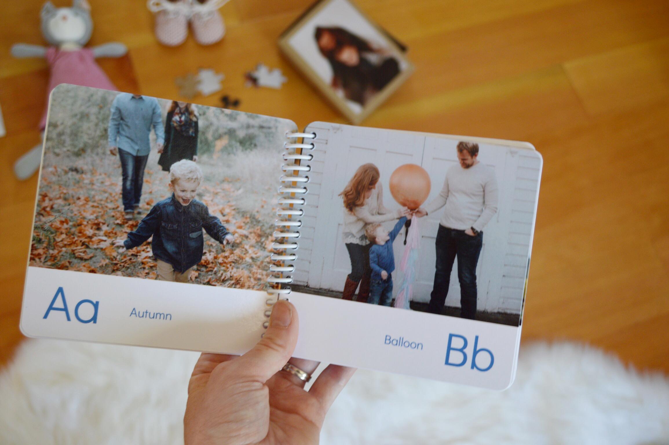 Custom Photo ABC Board Book Review