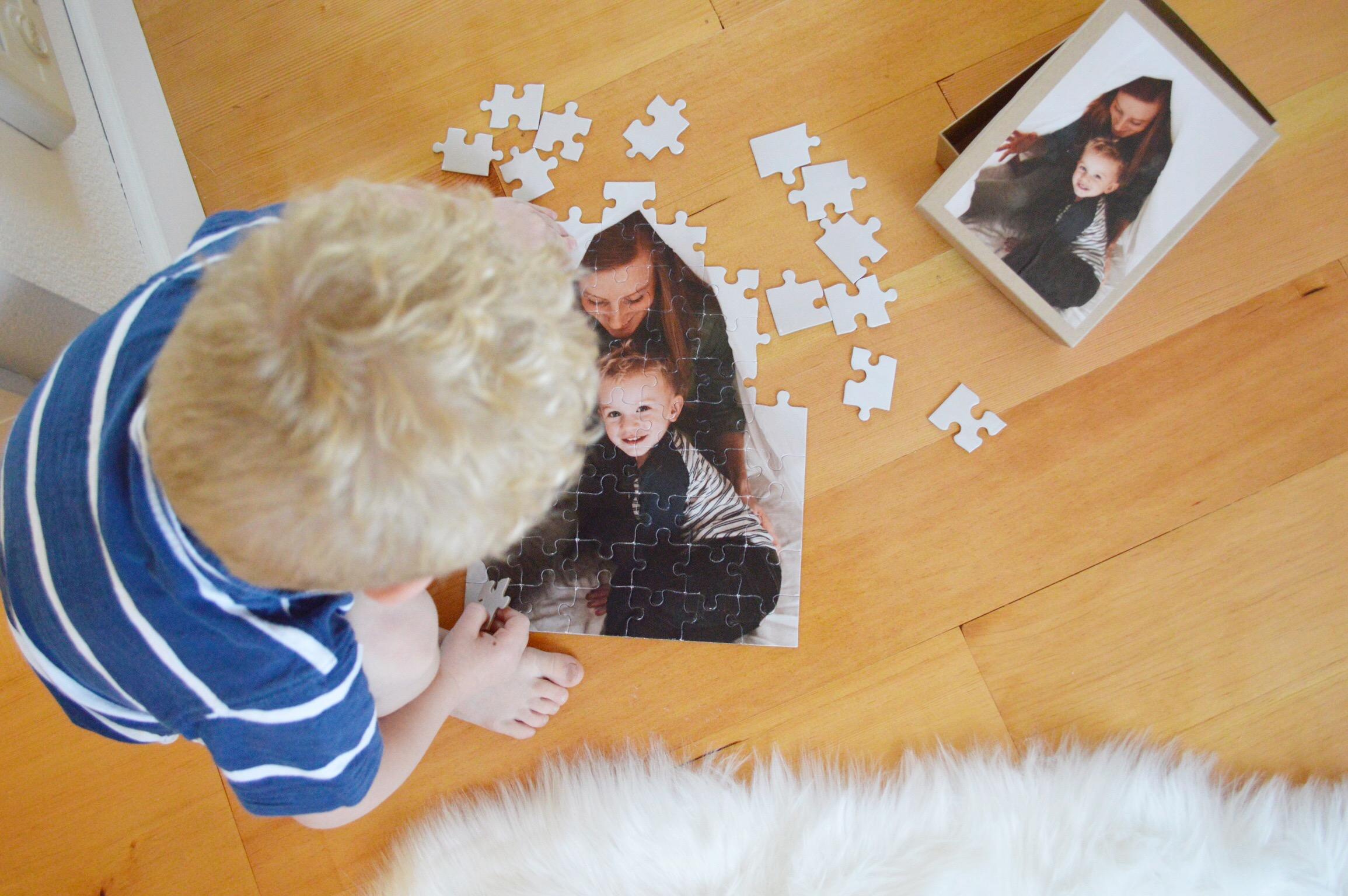 Custom 60 Piece Photo Puzzle