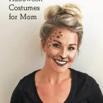 DIY makeup cheetah costume for Halloween
