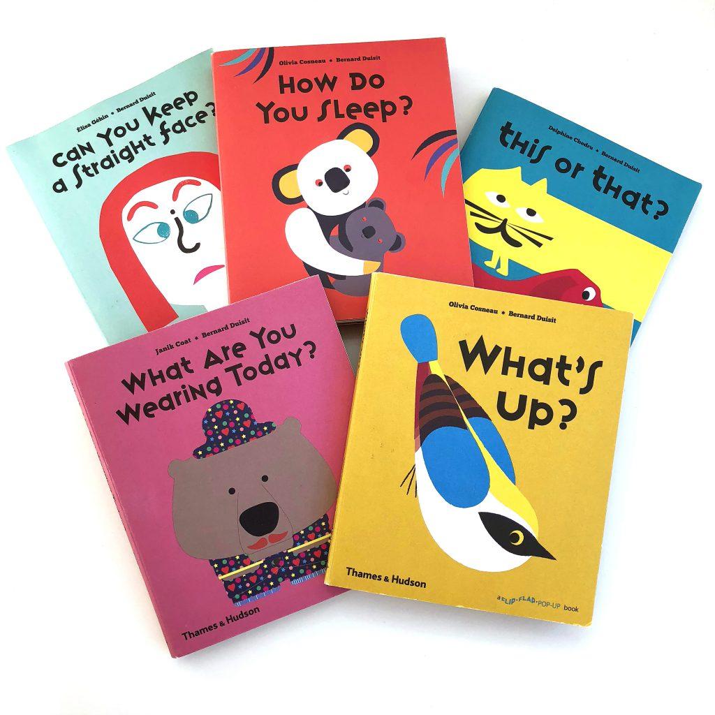 Flip Flap Story Books for Kids