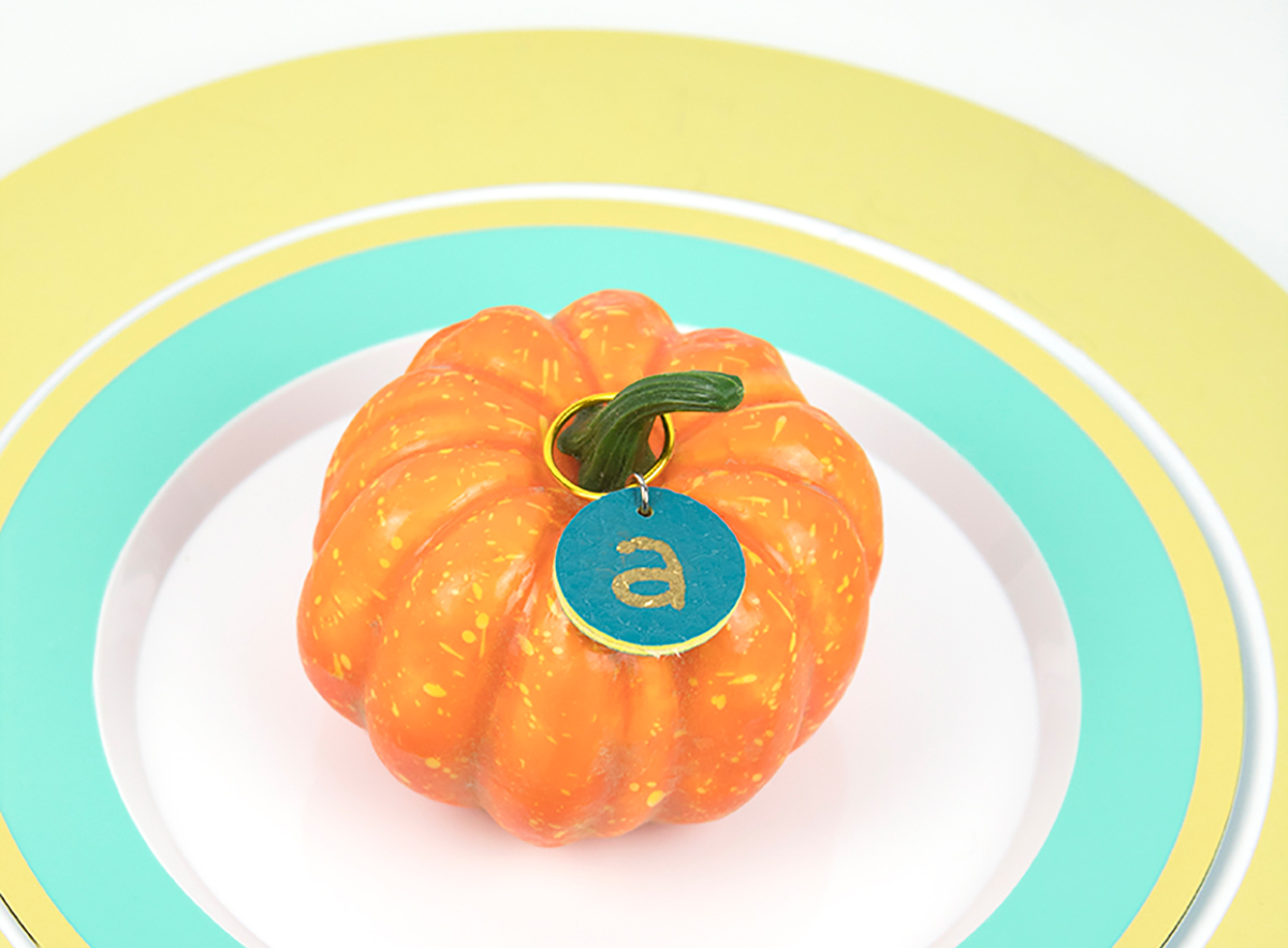 Fall Drink Markers for Party