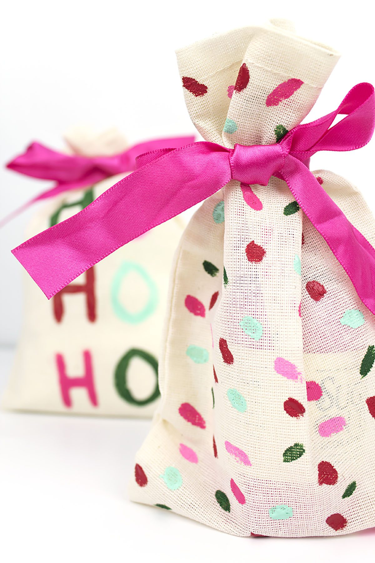 DIY Holiday Gift Pouch