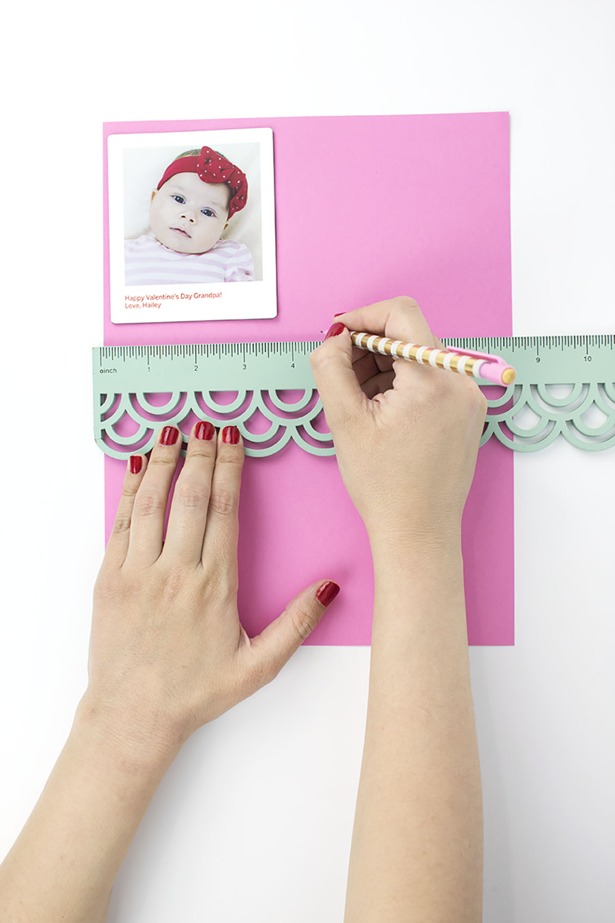 Polaroid-Photo-Magnet-Valentine-Ruler