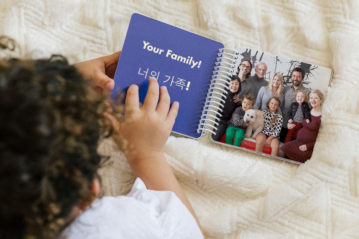 How to Create an Adoption Board Book
