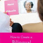 How to Create a Bilingual Photo Board Book