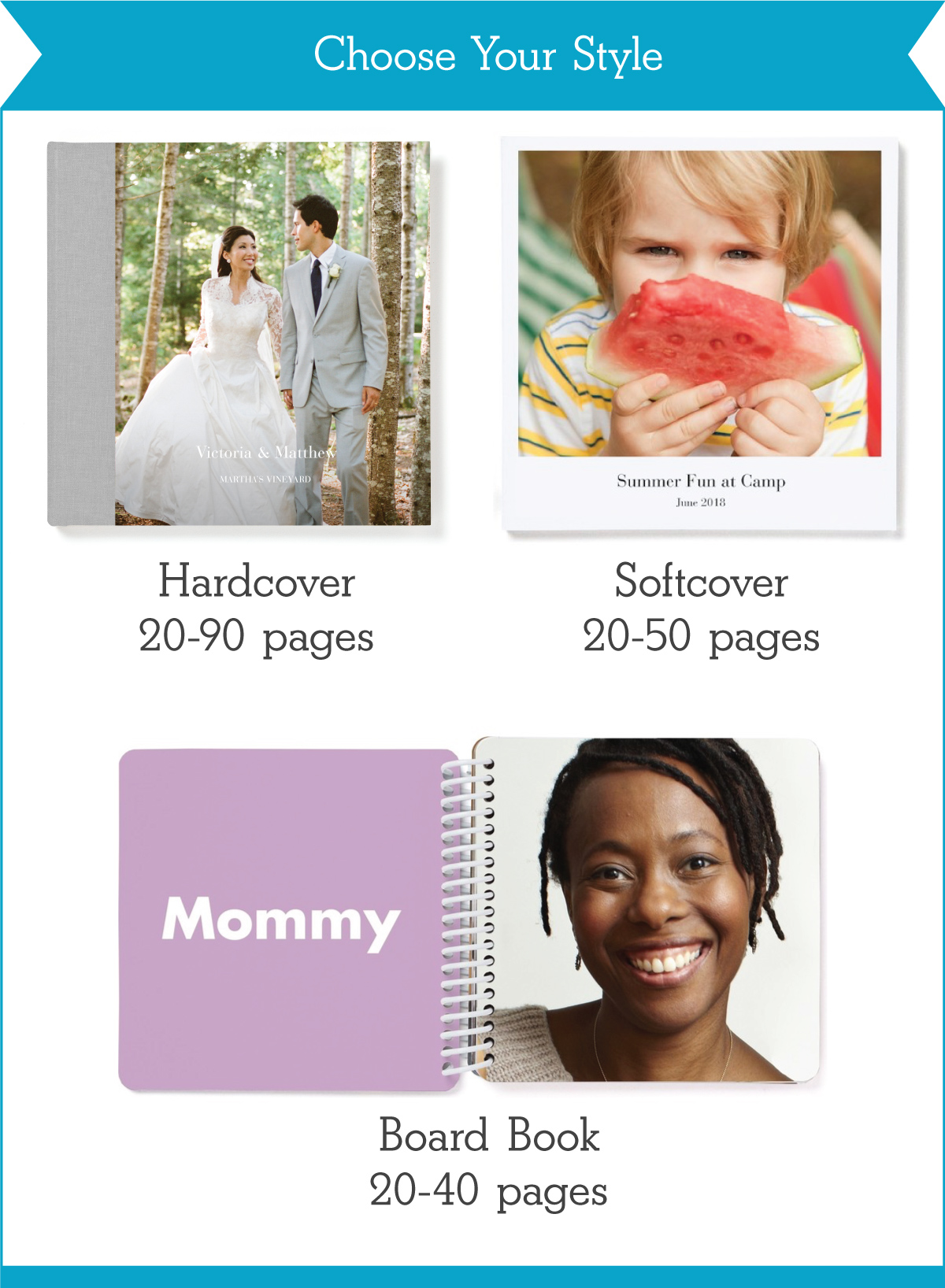 Photo Book Styles