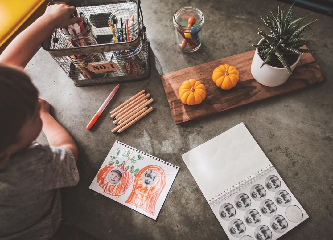 Kids-Drawing-Fall-Things