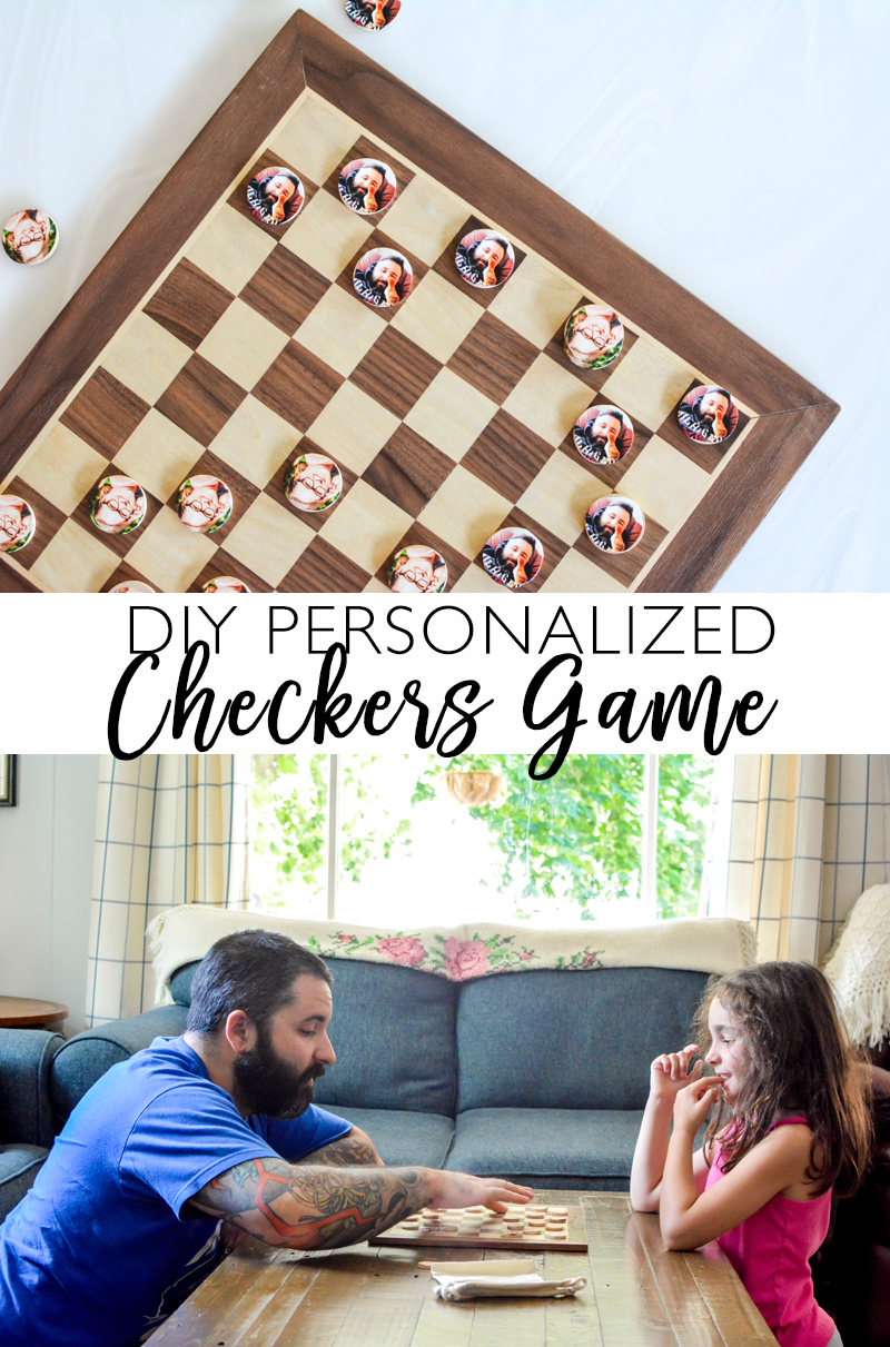 DIY Personalized Checkers