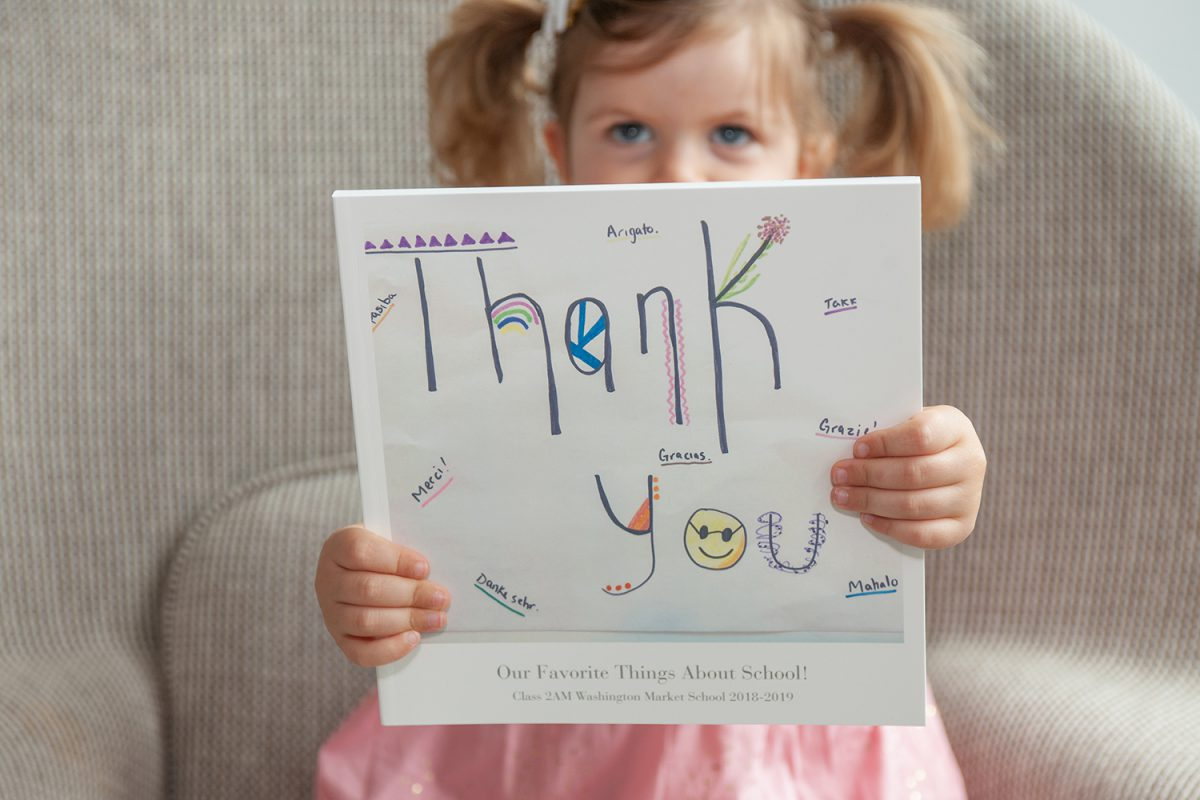 DIY Thank You Book for Teachers