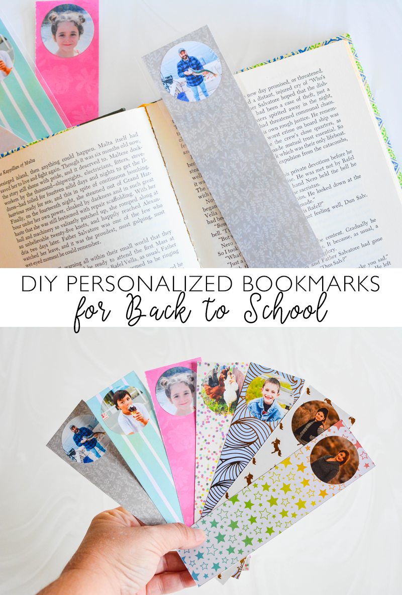 DIY Personalized Bookmarks