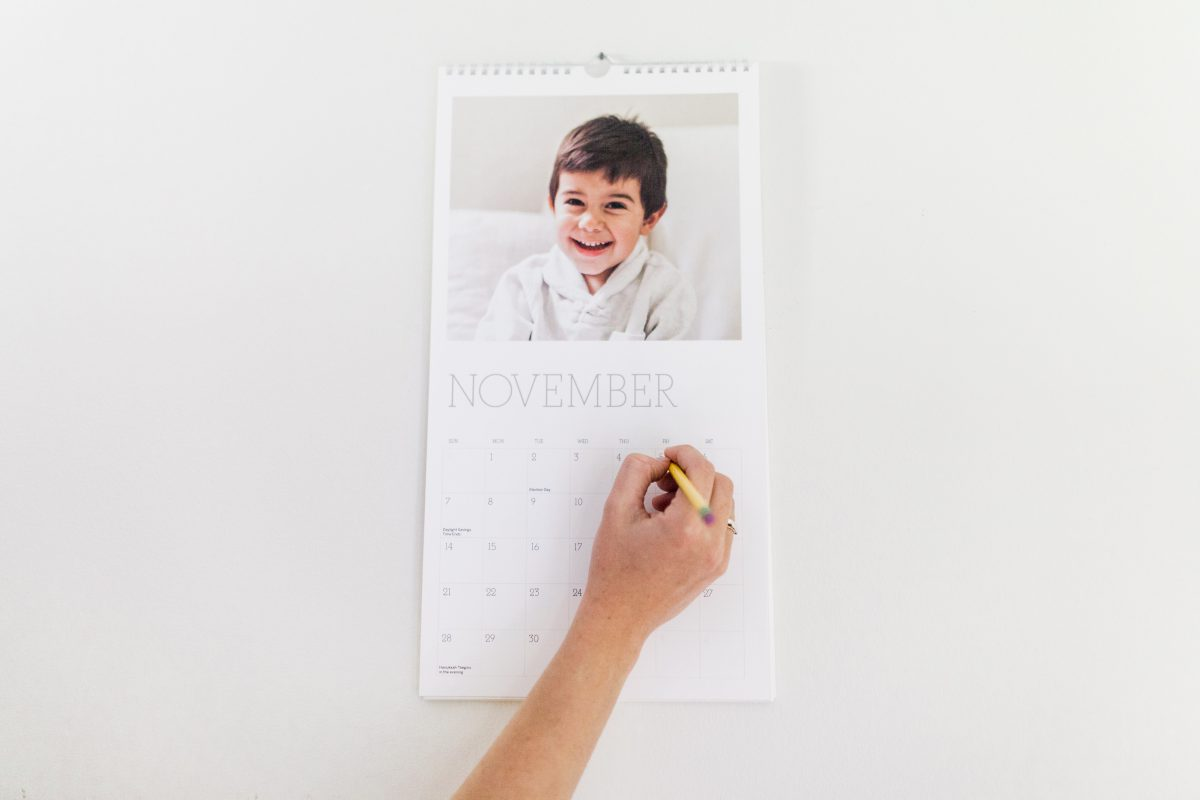 How To Customize Your Pinhole Press Wall Calendar